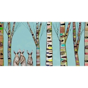 Greenbox Art Bunnies Woods, Eli Halpin, Canvas, 36 x I8 In.