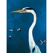 GreenBox Art Great Blue Heron, Eli Halpin Canvas 18 x 24