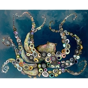 Greenbox Art Octopus, Eli Halpin, Canvas, 30 x 24 In.