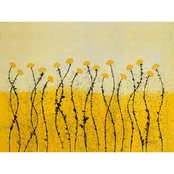 GreenBox Art Fields of Gold Canvas Wall Art 30 x 24