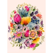 Greenbox Art 18 x 24 Succulent Bouquet III Canvas Wall Art
