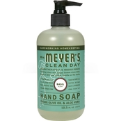 Mrs. Meyer's Clean Day Liquid Hand Soap, Basil Scent