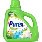 Purex Laundry Detergent Dirt Lift Action, Natural Elements, Linen & Lilies 150 oz.