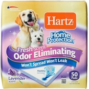 Hartz Home Protection Dog Pads Lavender Scent