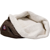 Majestic Pet 17 In. Suede Burrow Cat Bed