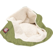 Majestic Pet Suede Burrow Cat Bed 17 in.