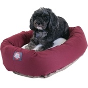 Majestic Pet 24 in. Sherpa Bagel Bed