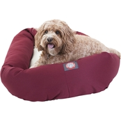 Majestic Pet 32 in. Sherpa Bagel Bed