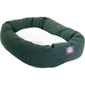 Majestic Pet 40 in. Sherpa Bagel Bed