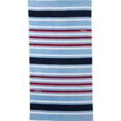 IZOD Deconstructed Stripes Beach Towel