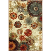 Mohawk Home Caravan Medallion Multi Rug