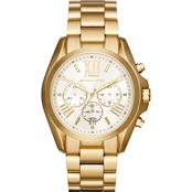 Michael Kors Women's Bradshaw Goldtone Chronograph Watch MK6266