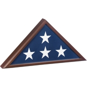 SpartaCraft Veteran Flag Display Case