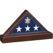 SpartaCraft Vice Presidential Flag Case Display Pedestal/Urn Combo