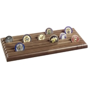 SpartaCraft 4 Row Shell Casing Challenge Coin Rack