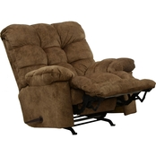 Catnapper Bronson Rocker Recliner with Over Sized Ottoman
