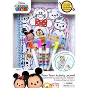 Disney Tsum Tsum Activity Journal Coloring & Sticker Book