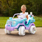 KidTrax Disney Frozen 4x4 6V Electric Ride On