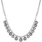 Lucky Brand Pearl Collar Necklace 17 in. Chain
