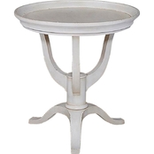 Bassett Artisanal Round Lamp Table