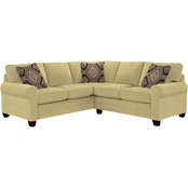 HGTV Home Design Studio by Bassett Sock Arm Sectional