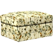 Bassett Storage Ottoman with Casters