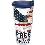 Tervis Tumbler  24 oz. Home of Free Tumbler