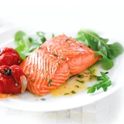 Vital Choice Skin On Sockeye Salmon 6 oz. Portions