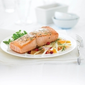 Vital Choice Skin On Boneless King Salmon 6 oz. Portions