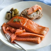 Vital Choice Smoked Sockeye Salmon, 6 Oz. Portions