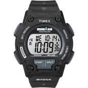Timex Men's Ironman Shock Resistant 30 Lap Watch T5K196
