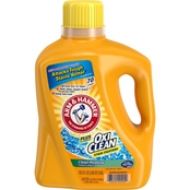 Arm & Hammer Clean Meadow Scent Liquid Laundry Detergent Plus OxiClean 125 Oz.