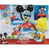 Fisher-Price Mickey Mouse Clubhouse Zip Slide and Zoom Playset