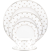 Kate Spade by Lenox Larabee Road Platinum 5 Pc. Place Setting