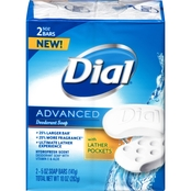 Dial Advanced Hydrofresh Scent Deodorant Bar Soap 2 pk.