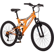 Pacific Derby Boys 24 In. Full Suspension Mountain Bike
