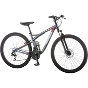 Mongoose Status 2.4 27.5 In. Full Suspension Mountain Bike