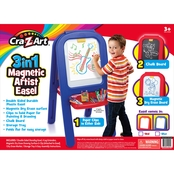 Cra-Z-Art 3 in 1 Large Plastic Easel