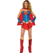 Rubie's Costume Co. Adult Deluxe Supergirl Halloween Costume