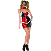 Rubie's Costume Co. Adult Deluxe Harley Quinn Halloween Costume