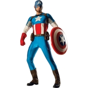 Rubie's Costume Adult Grand Heritage Captain America Halloween Costume