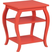 Powell Furniture Panorama Orange Table