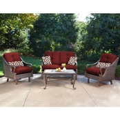 Hanover Ventura 4 Pc. Patio Set