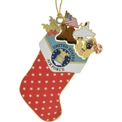 ChemArt Air Force Stocking Custom Ornament