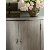 HGTV Home Design Studio Classics by Bassett Oval Nightstand