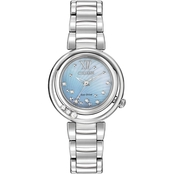 Citizen Women's Sunrise Eco Drive Diamond Accent Watch 30mm EM0320