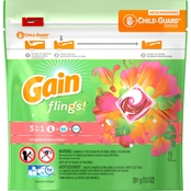 Gain Flings Tropical Sunrise Scent 3 in 1 Laundry Detergent 16 ct.