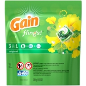 Gain Flings! Original Laundry Detergent Pacs 16 pk.