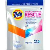 Tide Brights Plus  Whites Rescue Color Safe In-Wash Laundry Booster 18 Pk.