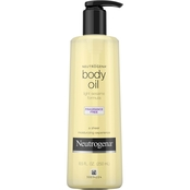 Neutrogena Body Oil, Light Sesame Oil Formula, Fragrance Free, 8.5 oz.